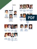 15th Congress Senators