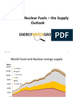Fossil and Nuclear Fuels – the Supply Outlook
