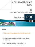 New Drug Approvals-by Dr Anthony Crasto
