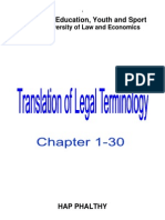 Legal Terminology Translation 1 30