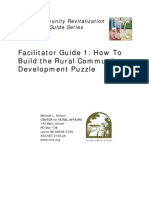 How to Build the Rural Community Development Puzzle
