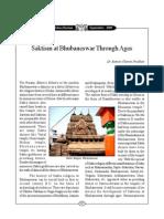 Orissa Review-Saktism at Bhubaneswar