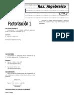 X 3.1  Factorización