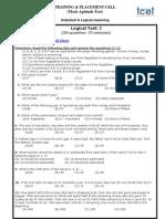 Pre Placement Test 4 TCET