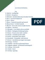 Mari Belajar Kamus Dewan Kelantan