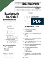 X 6.1  Ecuac 2° grado