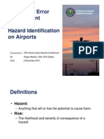 1100-Threat and Error Management and Hazard Identification