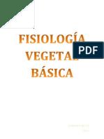 FISIOLOGÍA VEGETAL BÁSICA