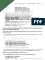 Real Decreto 1025 2011 Comisiones Delegadas