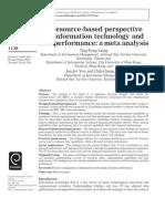 RBV Meta Analysis (IMDS 2010)