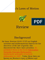 Discovering Newtons Laws