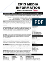 040613 Reading Fightins Game Notes