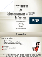 Management of HIV Infection