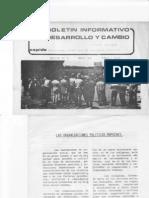 Morales, R (1986) Organizaciones Políticas Mapuches