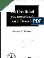 La Oralidad y Su Importancia en El Derecho