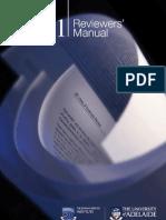 Briggs 2011; Reviewers Manual-2011