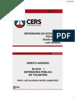 535 2012-11-19 Defensoria Pub Tocantins Direito Agrario 111912 Def Toc Dir Agr Aula 01