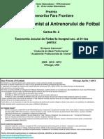 Book 2 = 21st Century's Football Taxonomy