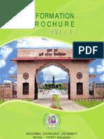 Information Brochure 2012-13
