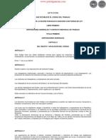 LEY 213_93 - CÓDIGO DEL TRABAJO - PARAGUAY - PORTALGUARANI