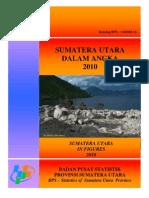 Sumatera Utara Dalam Angka 2010