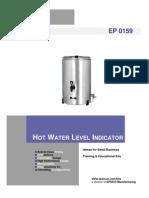 Hot Water Level Indicator