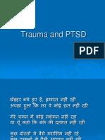 PTSD  english