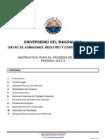 Instructivo Aspirantes 2013-II[1]