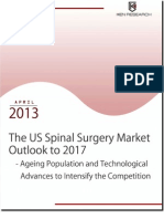 Improvement in Surgical Devices and Technology to Fortify the US Spinal Surgery Market