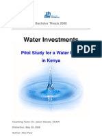 BA Thesis_WaterFundKenya_Kenya Water System
