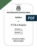 2009-10 F.Y.B.A. English liturature
