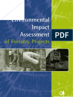 Environmental Impact Assessment of Forestry Projects