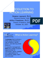 Introduction to Action Learning 080204