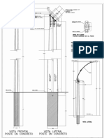 Poste Concreto Model Carabobo
