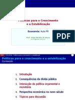 P09 Politicas Para o Crescimento e Estabilizacao