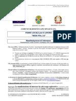 esempio_Avviso pubblico per la presentazione e la selezione dei PLL – Piani Locali per il Lavoro