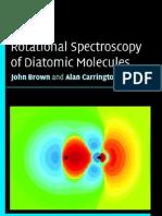 Rotational Spectroscopy of Diatomic Molecules Cambridge Molecular Science (1)