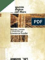 10929630 Los Apuntes Etnologicos de Karl MarxIntroduccion