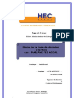 Rapport de Stage MARJANE(1) Nedal