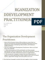 The Organization Ddevelopment Practitioner