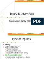 Injury and Injury Rate