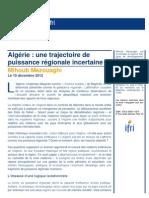 Algérie - une trajectoire de puissance régionale incertaine- Mihoub Mezouaghi