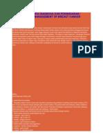 Kanker Payudara Diagnosa Dan Penanganan
