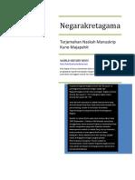 Terjemahan Naskah Manuskrip Negarakretagama