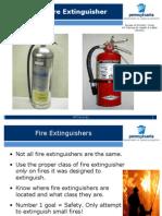 FIRE EXTINGUISHER USE L&I v1.ppt