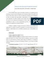 Instituciones y Modelos Organizativos en Hispania Romana