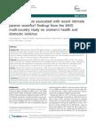 Who - IPV Study 2011