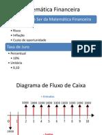 Cap. 1 - Matemática Financeira - Juros Simples