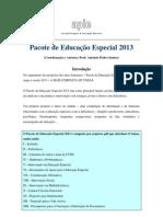 Pacote Educação Especial 2013