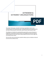 US Army Presentation  - Extremism & Extremist Organizations